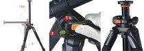 Vanguard Alta Pro 283 CT Carbon Fibre Tripod - Legs only