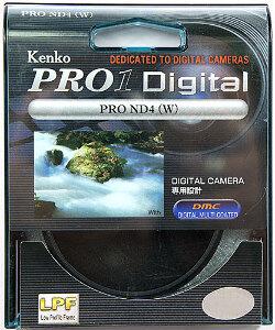 58mm Kenko Neutral Density 4x (ND4) Pro 1 Filter