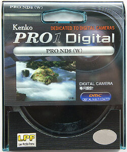 72mm Kenko Neutral Density 8x (ND8) Pro 1 Filter