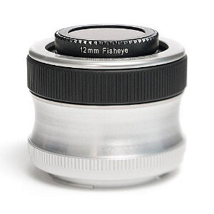 Lensbaby Scout with Fisheye - Olympus Mount
