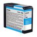 Epson UltraChrome K3 Ink Cartridge Cyan 80ml for 3880/3800 #T5802