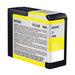 Epson UltraChrome K3 Ink Cartridge Yellow 80ml for 3880/3800 #T5804