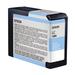 Epson UltraChrome K3 Ink Cartridge Light Cyan 80ml for 3880/3800 #T5805
