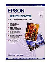 Epson Enhanced Matte Paper 192gsm A2 - 50 Sheets