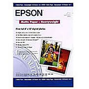 Epson Premium Glossy Photo Paper 255gsm A2 - 25 Sheets