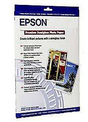 Epson Premium Semi Gloss Photo Paper 251gsm A2 - 25 Sheets