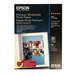 Epson Premium Semi Gloss Photo Paper 251gsm A4 - 20 Sheets