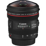 Canon 8-15mm f4L Fisheye lens