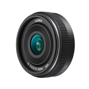 Panasonic Lumix G 14mm f/2.5 II ASPH Lens - Black Colour