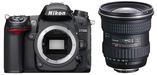 Nikon D7000 Digital SLR Camera + Tokina 11-16mm DX Lens