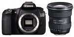 Canon 60D Digital SLR + Tokina Lens 11-16mm - Canon mount