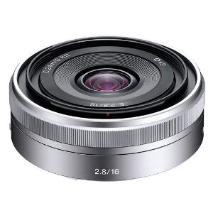 Sony 16mm f/2.8 E-mount lens #SELF28