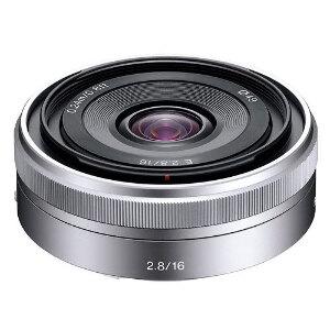 Sony 16mm f/2.8 E-mount lens #SELF28