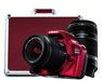 Canon EOS-1100D Digital SLR Camera Body Red + Canon Lens EF-S 18-55mm IS II + Canon Lens EF-S 55-250mm IS