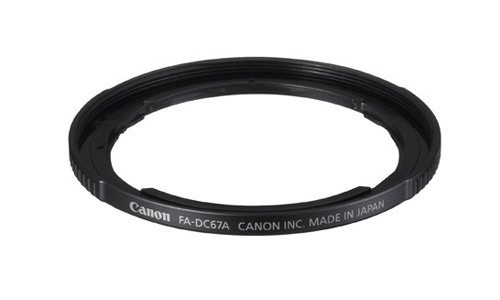 Canon Filter Adaptor FADC67A for SX30 / SX40 / SX50 IS
