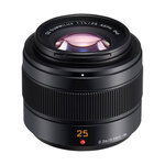 Panasonic 25mm f1.4DG Summilux lens