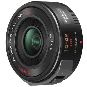 Panasonic Lens Lumix G X Vario PZ 14-42mm f/3.5-5.6 ASPH. / POWER O.I.S. - Micro Four Thirds