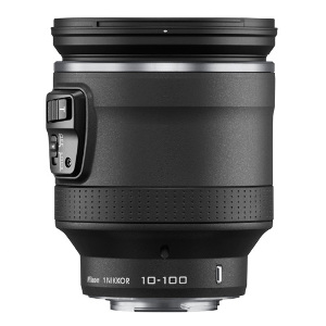 Nikon 1 Nikkor 10-100mm f/4.5-5.6 VR PD-Zoom CX Lens - Black