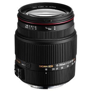 Sigma Lens 18-200mm f/.3.5-6.3 II DC OS HSM - Pentax Mount