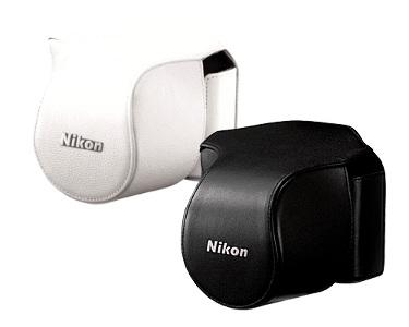 Nikon Leather Body Case Set for V1 + 10-30mm Lens White