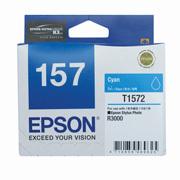 Epson 157 UltraChrome K3 Cyan (T1572) Ink Cartridge for R3000