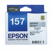 Epson 157 UltraChrome K3 Light Black (T1577) Ink Cartridge for R3000
