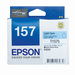 Epson 157 UltraChrome K3 Light Cyan (T1575) Ink Cartridge for R3000