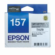 Epson 157 UltraChrome K3 Light Light Black (T1579) Ink Cartridge for R3000