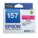 Epson 157 UltraChrome K3 Vivid Magenta (T1573) Ink Cartridge for R3000