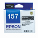 Epson 157 UltraChrome K3 Photo Black (T1571) Ink Cartridge for R3000