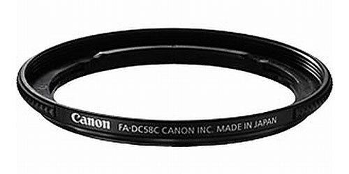 Canon FA-DC58C Filter Adapter for PowerShot G1X