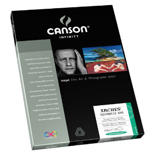 Canson Infinity Arches Aquarelle Rag 240gsm A4 – 25 Sheets