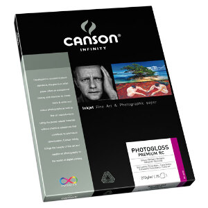 Canson Infinity PhotoGloss Premium RC 270gsm A3+ - 25 Sheets