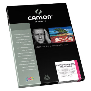 Canson Infinity Photo HighGloss Premium RC 315gsm A4 – 10 Sheets