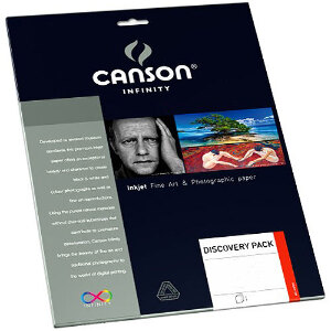 Canson Paper Fine Art Photo Discovery Pack A4 -9 Sheets