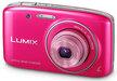 Panasonic Lumix DMC-S2 Digital Camera - 14.1 Megapixel - Pink