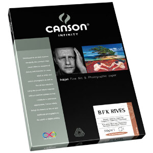 Canson Infinity B F K Rives 310gsm A4 - 25 Sheets