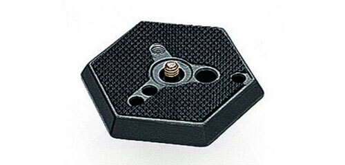 """Manfrotto Hexagonal 1/4"""" Plate Adapter for RC0 #030-14"""