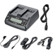 Sony AC-VQ1051D Twin Battery Charger/AC Adapter for L-series Batteries