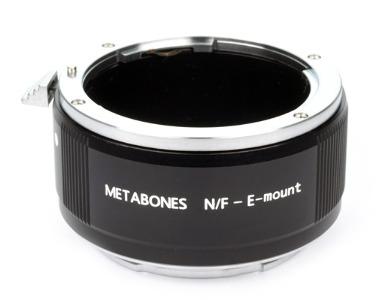 Metabones Nikon F Lens to Sony NEX E-Mount Adapter