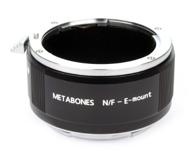 Metabones Nikon F Lens to Sony NEX E-Mount Adapter