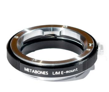 Metabones Leica M Lens to Sony NEX E-Mount Adapter