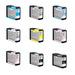 Epson UltraChrome K3 Full Ink Cartridge Set for 3800