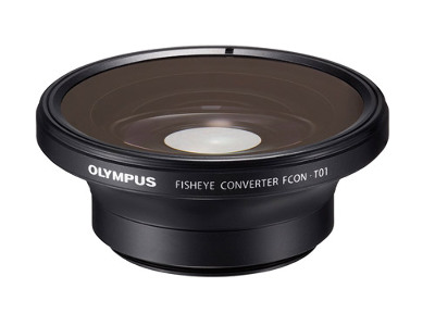 Olympus Fish-Eye Converter FCON-T01 for TG-1,TG-2,TG-3 and TG-4 (requires CLA-T01 lens adapter)