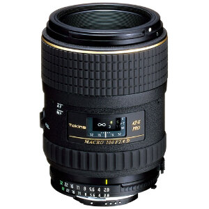 Tokina AT-X 100mm f/2.8 M100 AF Pro D Macro Lens