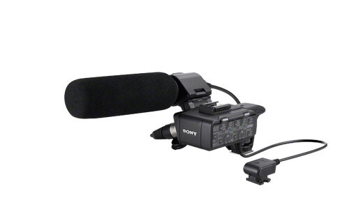 Sony XLR-K1M Microphone Adapter for Sony Alpha SLT-A99 DSLR