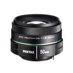 Pentax 50mm f/1.8 SMC DA lens