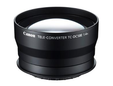 Canon Teleconversion Lens for G15 #TC-DC58E