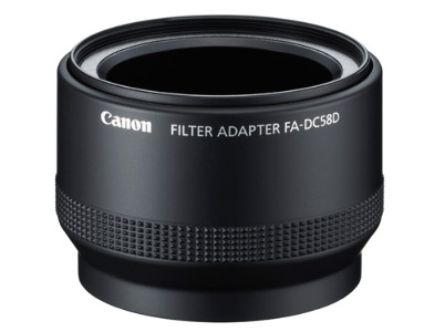Canon FA-DC58D Filter Adapter for PowerShot G15/G16