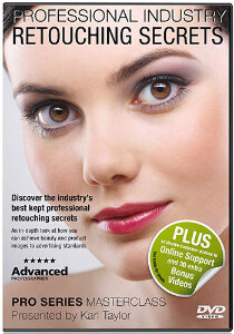 Karl Taylor Pro Series - Professional Retouching Secrets (Photoshop) DVD